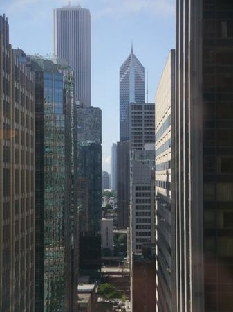 MileNorth, A Chicago Hotel: view from our bedroom on the 27th floor