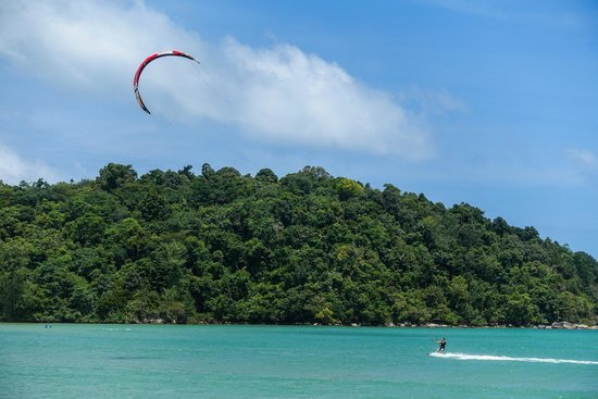 Kite Surfing at Kite Zone in Chalong Phuket