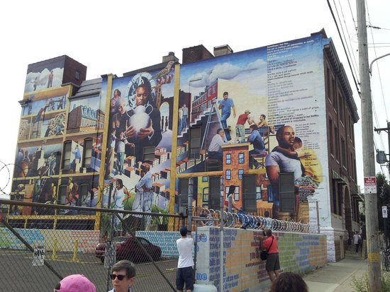 Mural Tour Philadelphia Map Of 301 Moved Permanently
