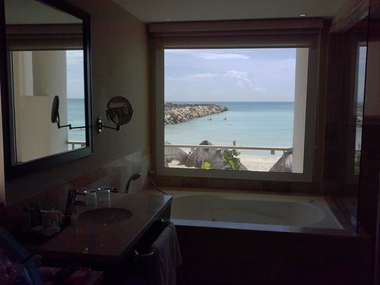 View from our bathroom picture of now jade riviera for Riviera bathrooms