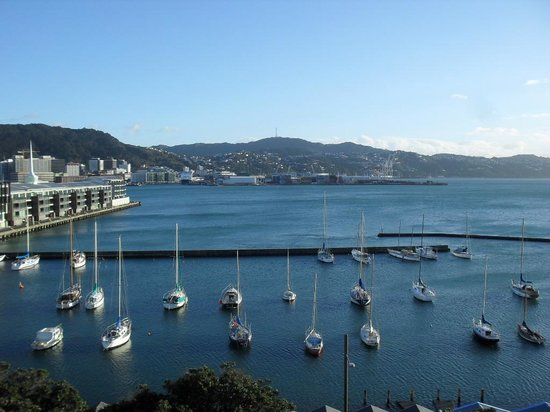 Copthorne Hotel Wellington Oriental Bay: view from 603