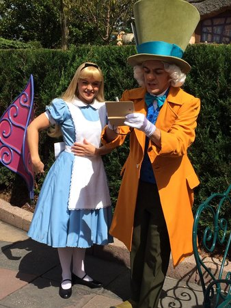 alice amp the mad hatter picture of disneyland park marne
