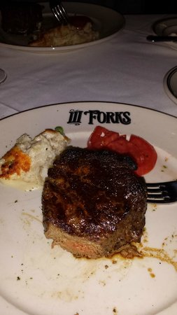 The Fillet And Creamed Corn Picture Of Iii Forks Palm