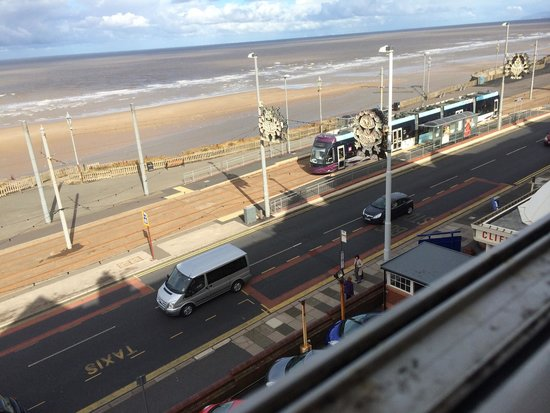 The Cliffs Hotel tram stop - just across the road, which offers great value to guests. Why use t