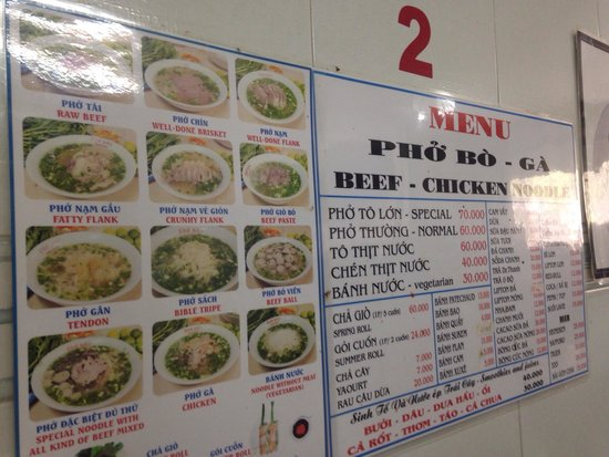 Best Pho in Hcm City Pho Hoa