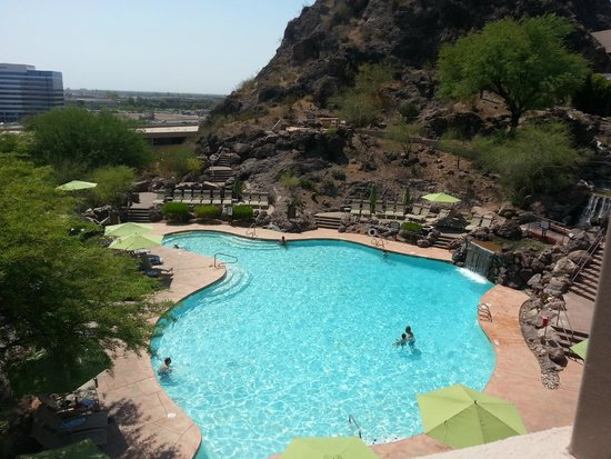 Swimming pool picture of the buttes a marriott resort for Tempe swimming pool