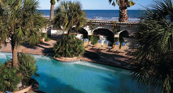 Pool Picture Of Hotel Galvez Amp Spa A Wyndham Grand