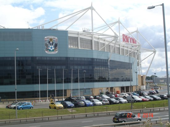 Cheap Hotels Coventry Near Ricoh Arena