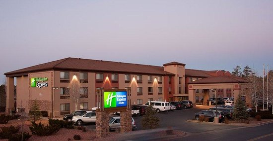 hotel exterior picture of holiday inn express grand. Black Bedroom Furniture Sets. Home Design Ideas