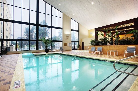 Heated Indoor Swimming Pool Picture Of Holiday Inn Asheville Biltmore West Asheville