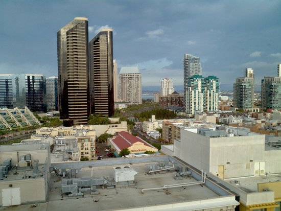 Rooftop sunset - Picture of San Diego Marriott Gaslamp ...