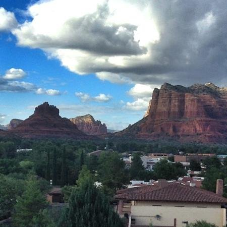 view from room 3043 picture of hilton sedona resort at. Black Bedroom Furniture Sets. Home Design Ideas