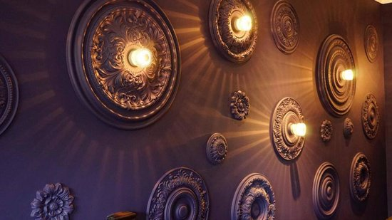 Feature wall picture of amans indian restaurant newton for Aman indian cuisine