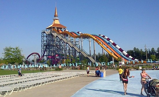 The Tallest Slides In The Park Picture Of Calypso Water