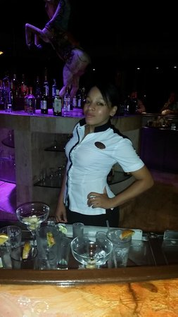 Paradisus Punta Cana: Yahanna was always a blast and had a lot of fun with her loving spirit