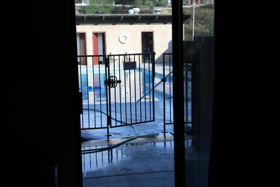 Salmon, ID: An outdoor pool was immediately outside our door