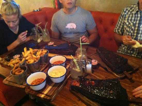 SO MUCH RIB Picture of Spitfire Barbecue Bristol
