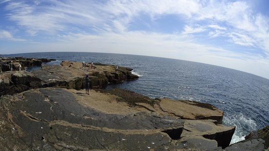 Waves At Schoodic Point Picture Of Schoodic Point Acadia National Park Tripadvisor