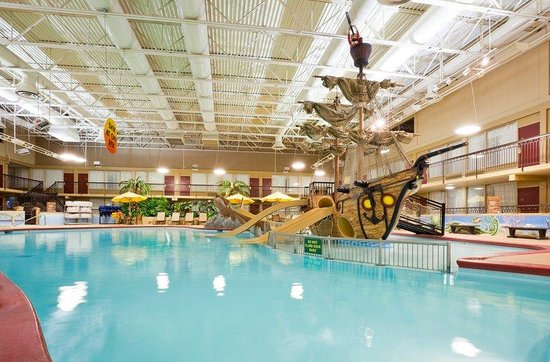 Shipwreck Bay Water Playland Picture Of Holiday Inn Fargo Fargo Tripadvisor