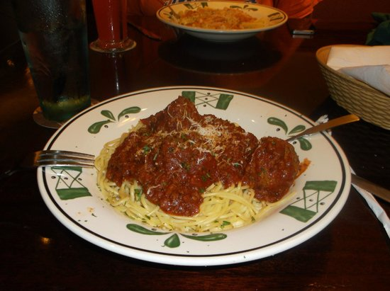 Saladinha gr tis picture of olive garden new york city - Olive garden spaghetti and meatballs ...