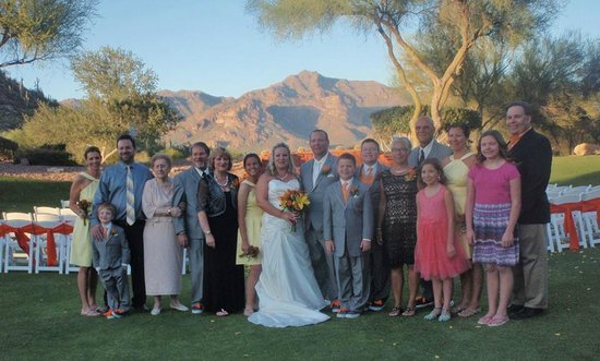 Gold canyon resort wedding