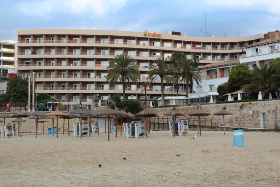 The Hotel From The Beach Picture Of Be Live Adults Only Costa Palma Cala Major Tripadvisor