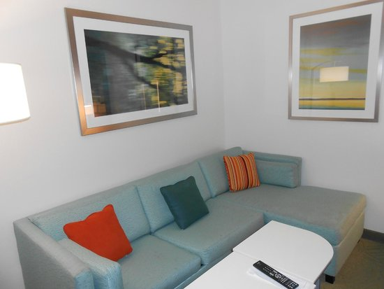 SpringHill Suites Quakertown: Sitting area