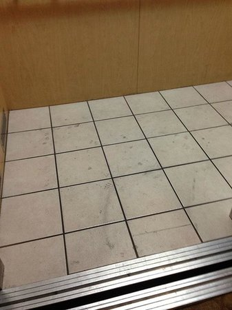 Comfort Suites North IH 35: Nasty elevator floor, grant it, there is a indoor pool on-site