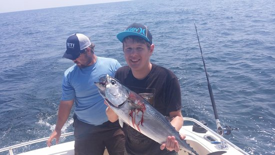 Hot tuna picture of north myrtle beach fishing charters for North myrtle beach fishing