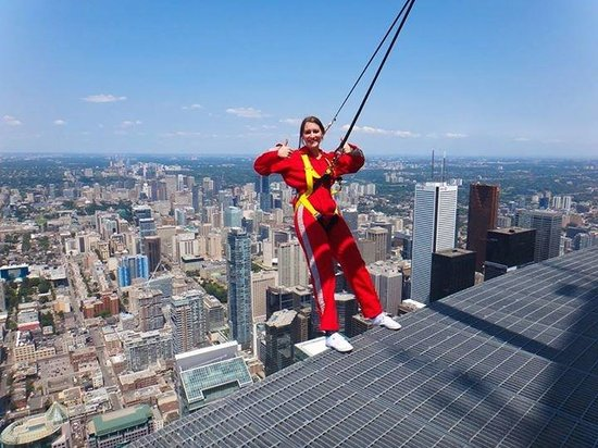 Had A Great Time Picture Of Edge Walk At The Cn Tower
