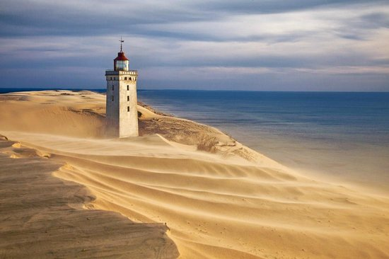 Rugbjerg Knude Lighthouse Picture Of Rubjerg Knude