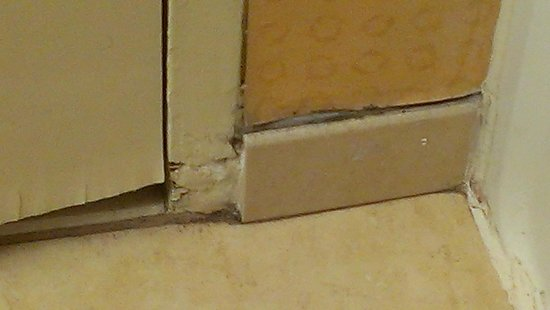 Water Damaged Door And Baseboard Picture Of The Hampton Inn Times Square North New York City