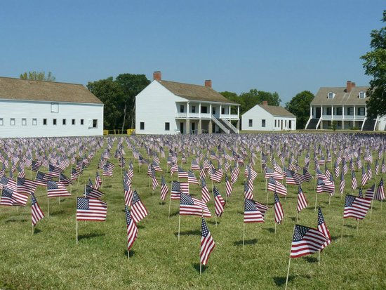 Fort Scott (KS) United States  city photo : Fort Scott Photo: 7000 deaths in the War on Terrorism. One flag is one ...