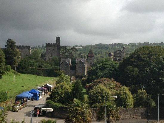 Lismore House Hotel: View from Lismore hotel room