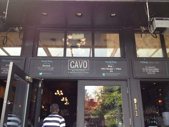 Cavo Bar Kitchen Vancouver