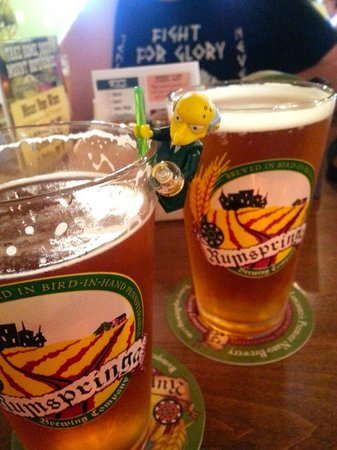 Bird in Hand, PA: Mr. Burns would agree: the beer selection was excellent!