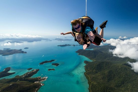 Skydive Airlie Beach