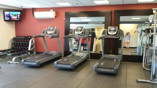 Gym picture of hampton inn suites new hartford utica