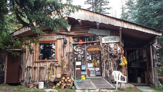 Larry has a lot of cool stuff picture of caverhill for British columbia fishing lodges