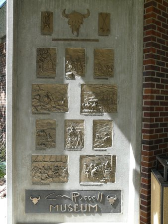 C.M. Russell Museum: Decorative outdoor panel