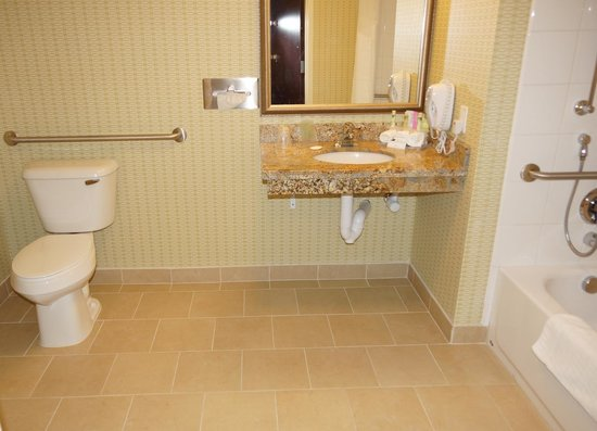 Handicap Room Bathroom Picture Of Holiday Inn Express And Suites Browning Browning