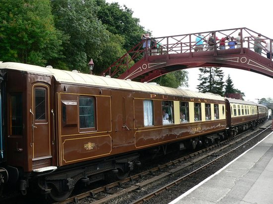 Pullman lunch - Review of North Yorkshire Moors Railway ...
