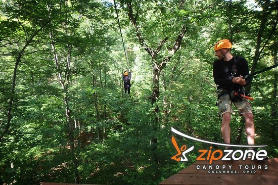 The Gang Is All Here Picture Of Zipzone Canopy Tours