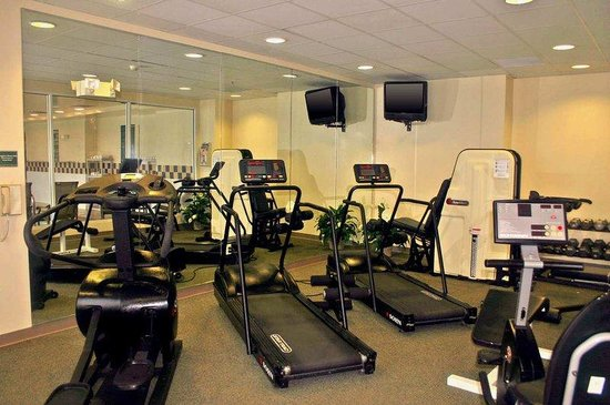 Fitness Center Picture Of Hilton Garden Inn Detroit Metro Airport Romulus Tripadvisor
