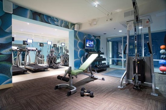 State Of The Art Fitness Center Picture Of Hotel Indigo