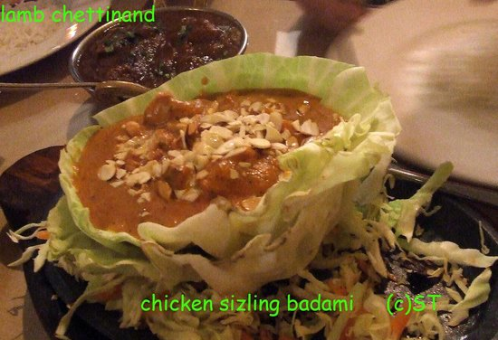 Badami chicken picture of indian aroma restaurant for Aroma cuisine of india