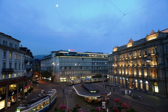 View from room chinese mid autumn festival picture of for Piscine zurich