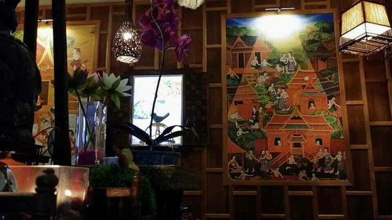 wow i was amazing at my first entrance to thai banya unbelievable inside of restaurant is so v. Black Bedroom Furniture Sets. Home Design Ideas