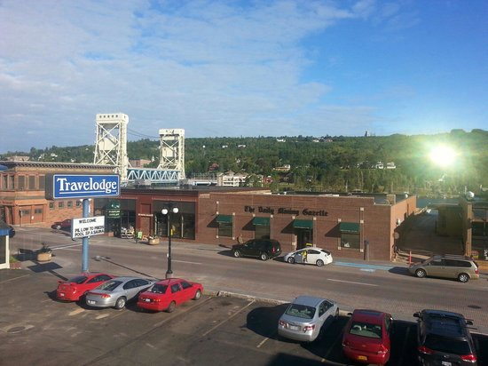 Travelodge Houghton: My view from room 305