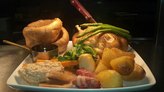 Sunday Roast Chicken Sharer - Picture of horse and groom, Guildford ...